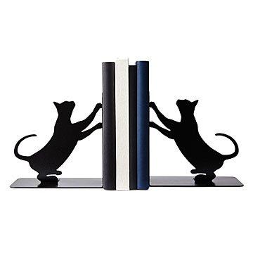 Cat-Scratch-Bookends